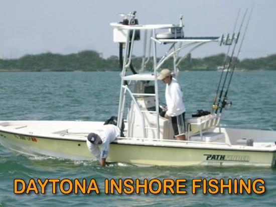 Daytona inshore fishing fishing trips floridaflorida for What is inshore fishing